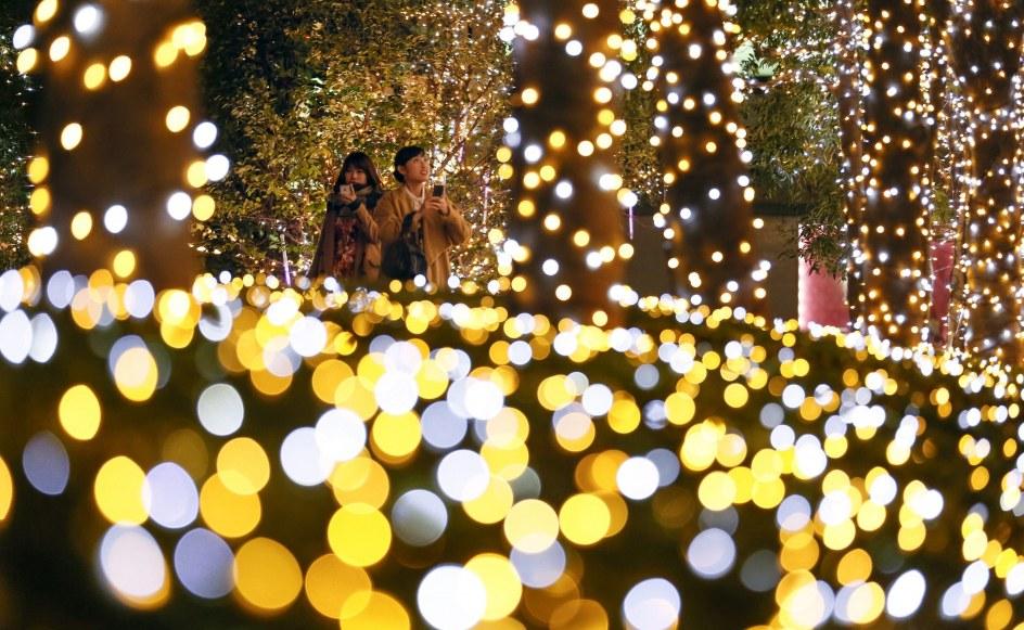 Decoracin navidea en Tokio  20minutoses