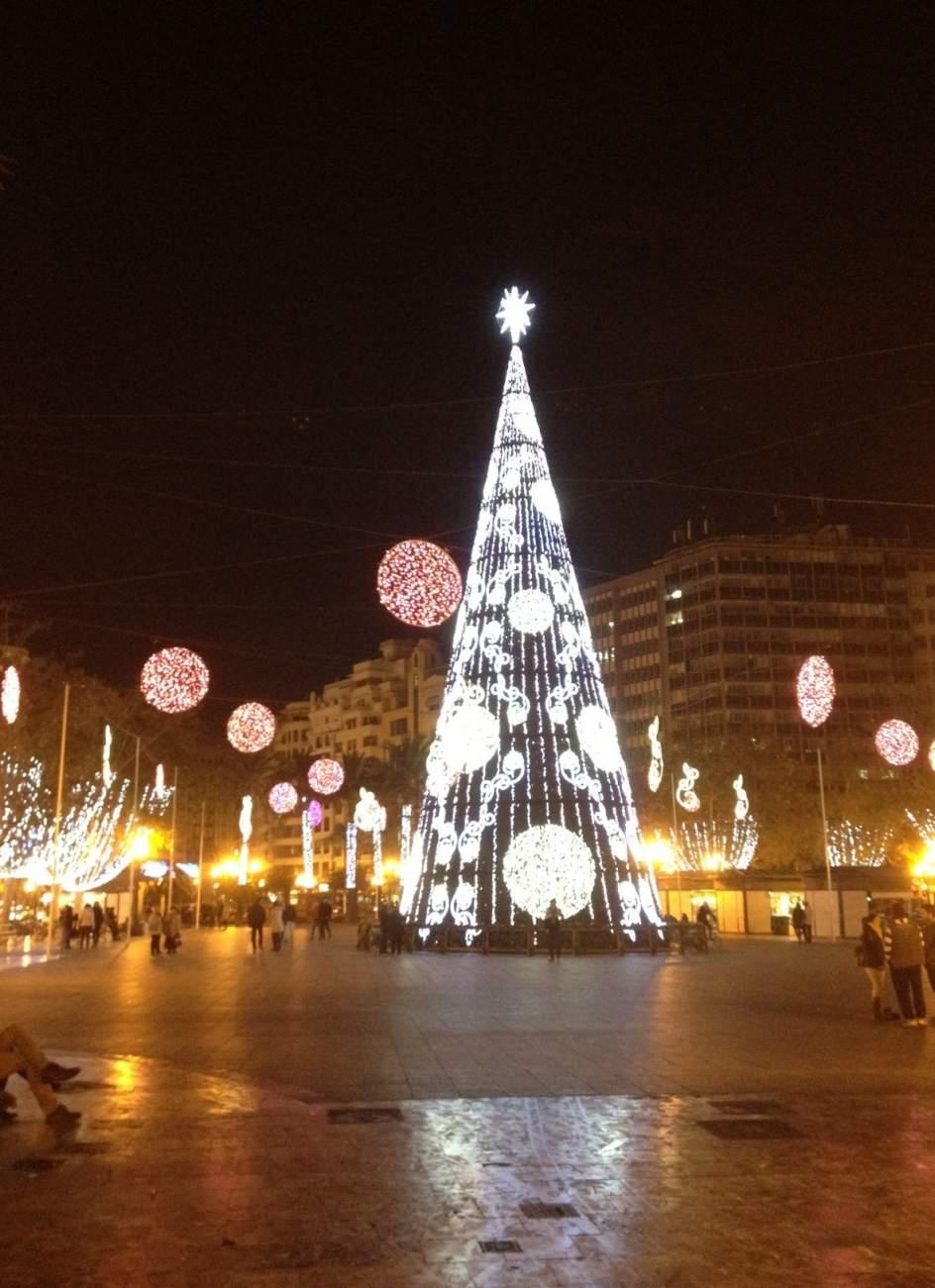 Valencia gastar 59000 euros en las luces de Navidad un