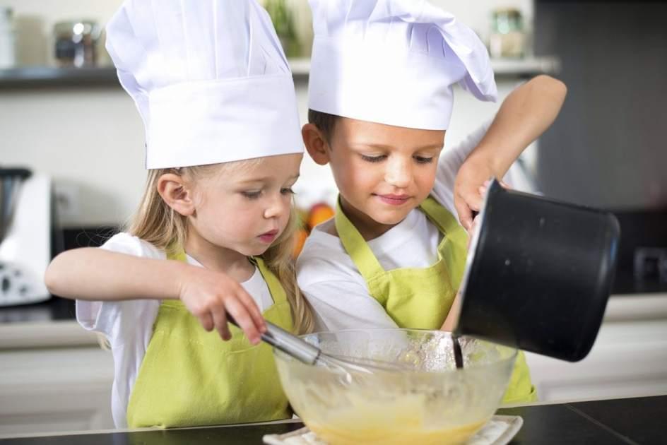 Cocinando con los nios recetas para hacer con los ms