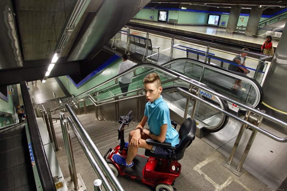 El 30 de las estaciones de Metro en Madrid carecen de