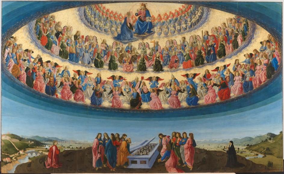 El espectacular retablo 'La asunción de la Virgen'