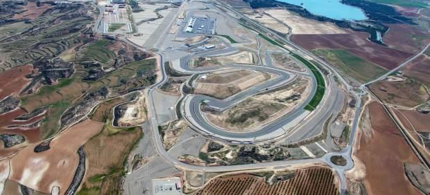 Circuito de Motorland, en Alcañiz (Teruel)
