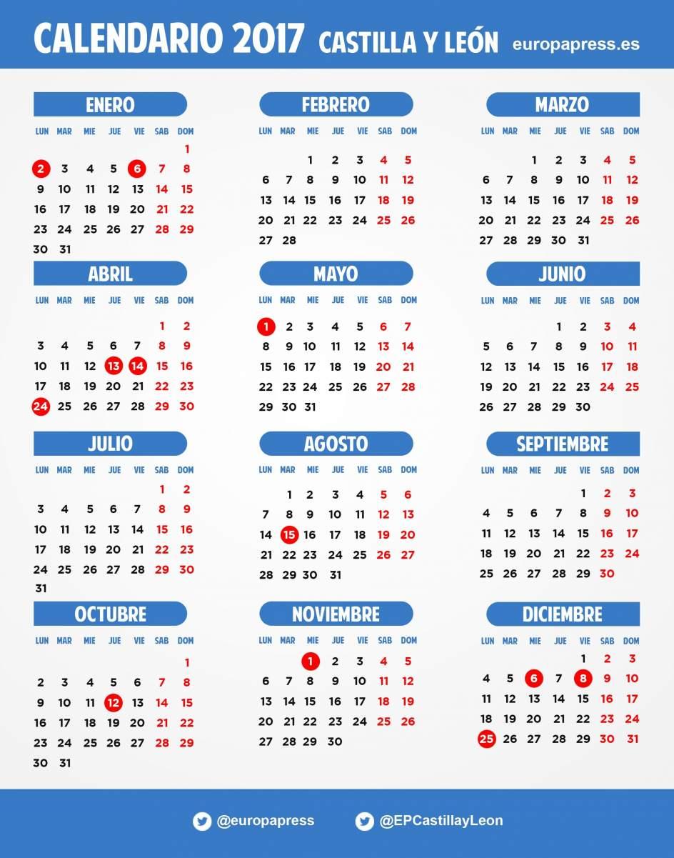 Calendario Laboral Valladolid.Calendario Laboral 2017 Valladolid Make Your Own Running Calendar