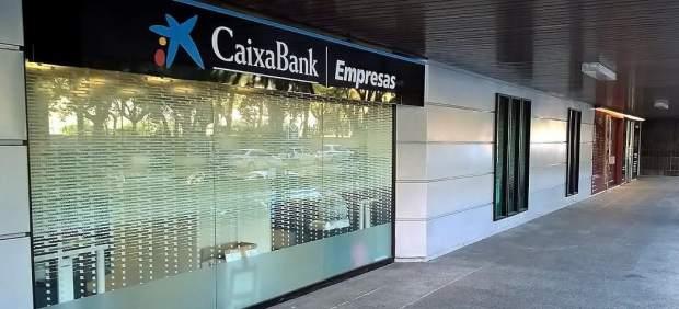 Una de las oficinas de Caixabank