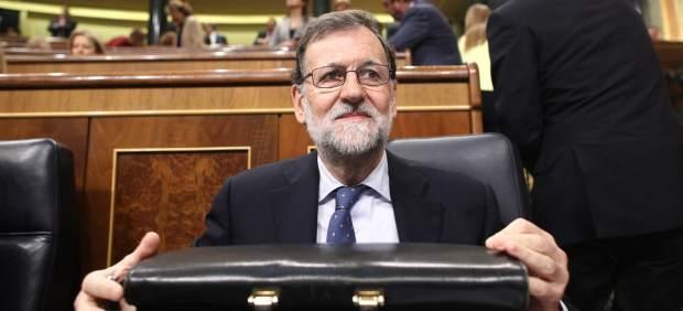 Mariano Rajoy en la asamblea de control al Gobierno en el Congreso