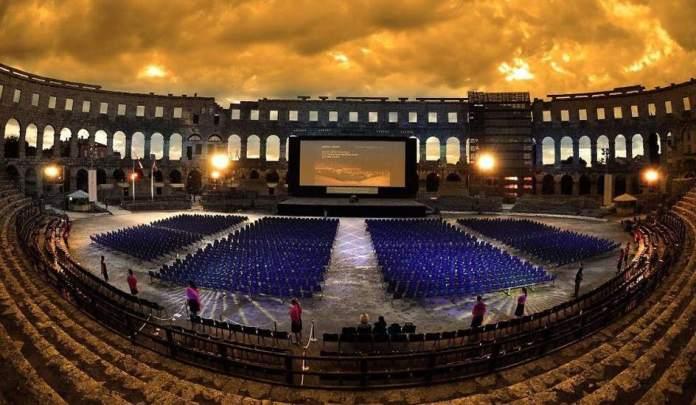 Resultado de imagen para Arena Pula, Croacia cine