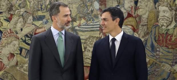 Felipe VI, Pedro Sánchez