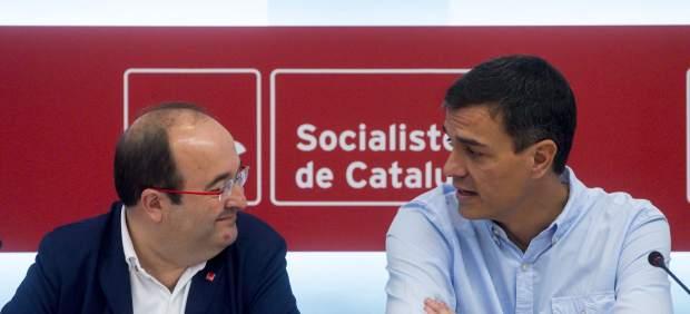 Reunión PSOE y PSC
