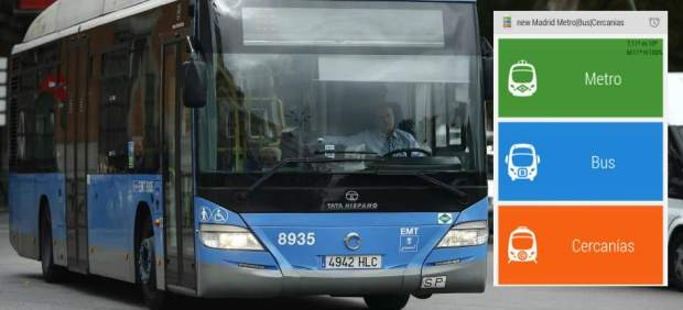 EMT Madrid, transporte público, aplicaciones,