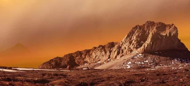 El mundo rojo, Marte.