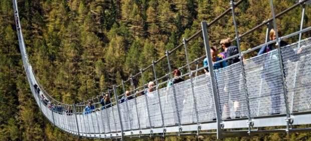 El puente colgante más largometraje del mundo
