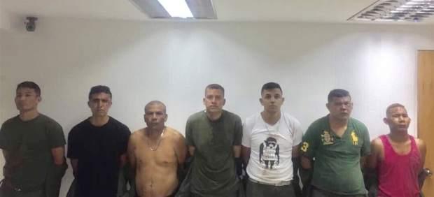 Detenidos por el asalto a Fuerte Paramacay