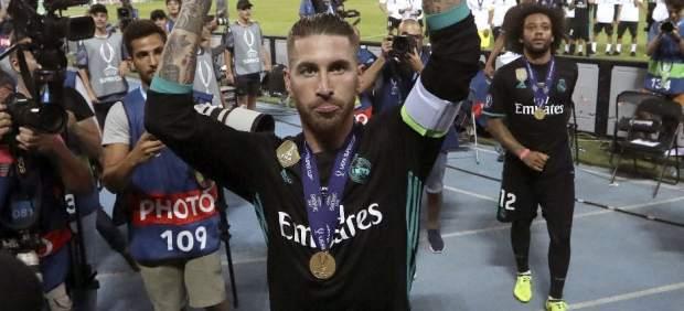 Ramos alza la Supercopa