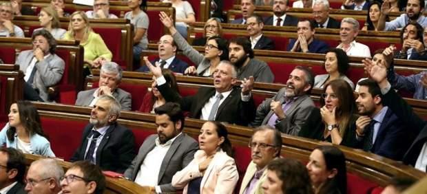 Pleno del Parlamento catalán