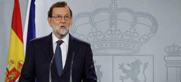 Rajoy comparece por la DUI