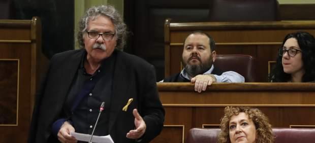 Joan Tardà, en el Congreso de los Diputados