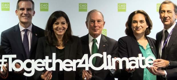 Alcaldes en la Cumbre de París