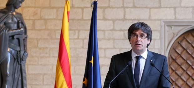 El presidenta de la Generalitat, Carles Puigdemont