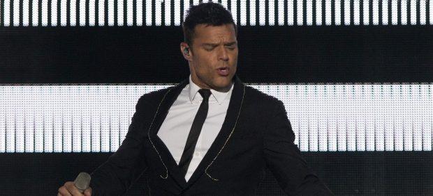 Ricky Martin actúa en el Festival Presidente