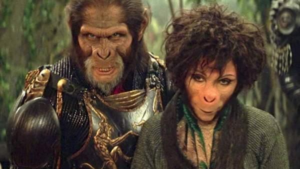 El planeta de los simios - Tim Burton