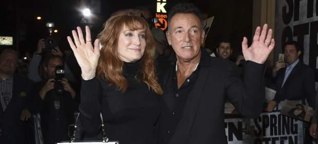 Bruce Springsteen junto a su mujer en una imagen de archivo.