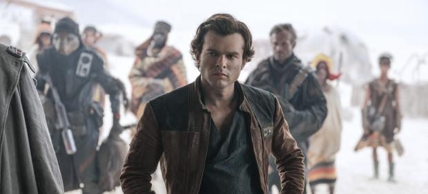 Alden Ehrenreich, en 'Han Solo: Una historia de Star Wars'.