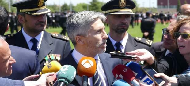 Grande-Marlaska en la Escuela de Policía de Ávila 14-6-2018
