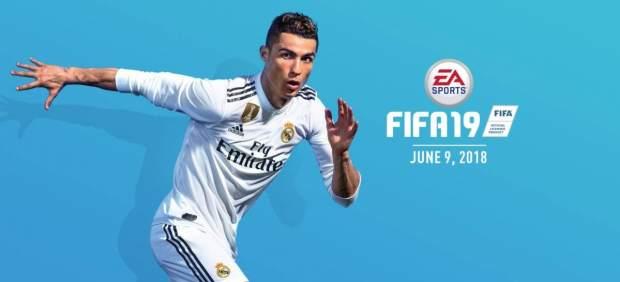 Cristiano Ronaldo en la portada de 'FIFA 19'
