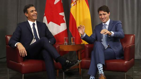 Sánchez y Trudeau
