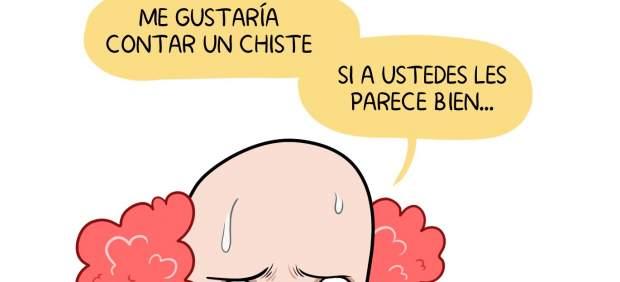 'Humor amenazado', viñeta de Álvaro Terán