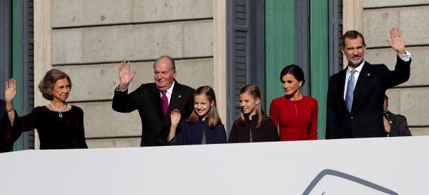 La Familia Real en el Congreso