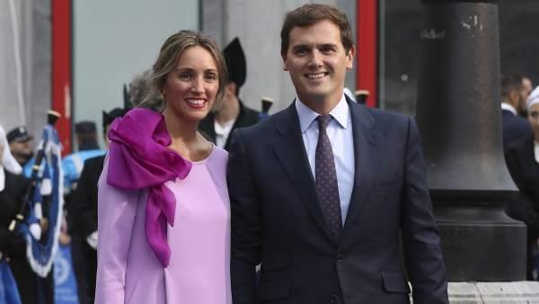 Beatriz Tajuelo y Albert Rivera