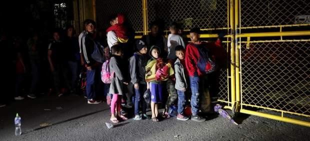 Nueva caravana de emigrantes centroamericanos