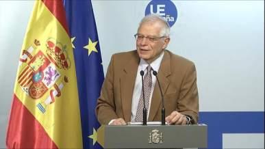"""Borrell, seguro de que UE tomará """"medidas reglamentarias"""" sobre Iberia"""