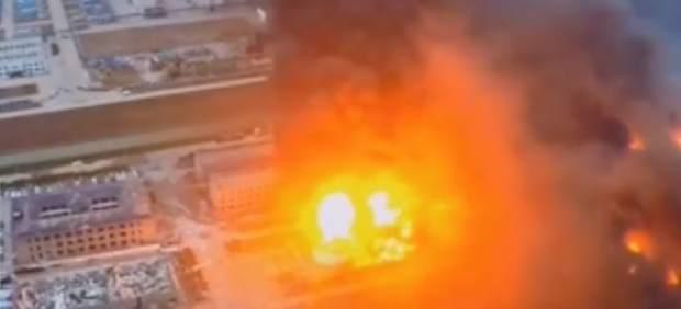 Explosión en una planta química de China