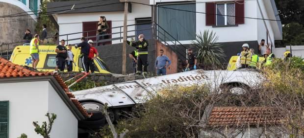 Accidente de autobús en Madeira