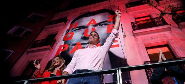 Sánchez gana las elecciones