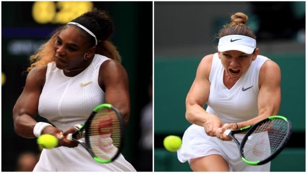 Serena Williams y Simona Halep, finalistas de Wimbledon