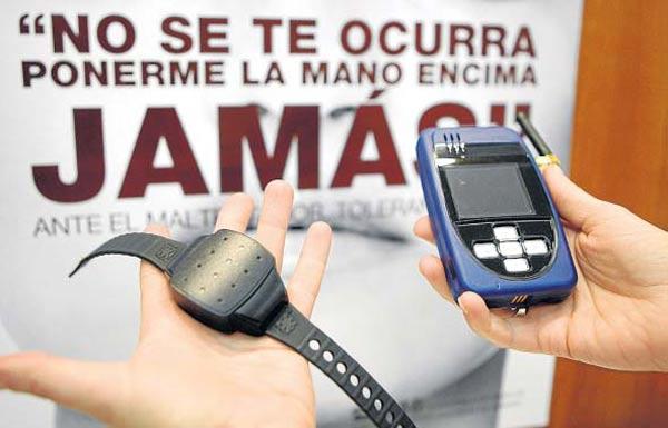 Dispositivo GPS utilizado para proteger a víctimas de violencia machista