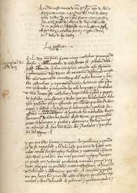 El Archivo de Navarra expone un manuscrito de concesión del real perdón de Fernando el Católico a los navarros rebeldes