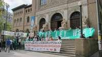 Los colectivos educativos afirman que iban a realizar una protesta