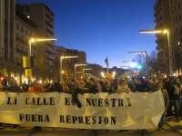 Colectivos sociales piden que se retiren los cargos a los ocho detenidos en las protestas del fin de semana pasado