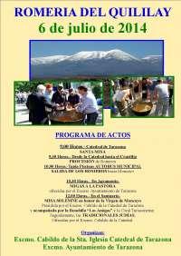 Tarazona celebra su tradicional Romería del Quililay
