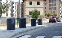 La avenida de la Estación estrena contenedores soterrados