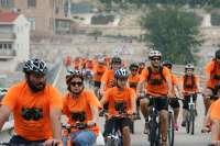 Unos 450 ciclistas en el 'Día de la Bicicleta' de Mequinenza
