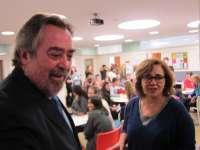 Belloch pide a los estudiantes del School Year Abroad que sean embajadores de la ciudad