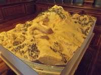 Las canteras de arcillas de Teruel, en una maqueta