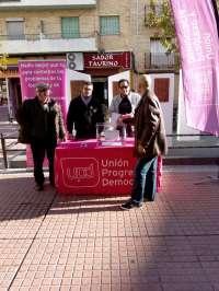 UPyD recoge propuestas de los vecinos de Alagón y Utebo