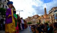 Tarazona, punto de encuentro de comparsas de gigantes de Aragón, Navarra y La Rioja