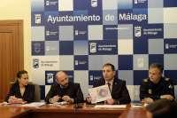 Los viales de la ciudad de Málaga presentan nueve puntos negros